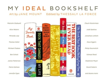 My Ideal Bookshelf, cover
