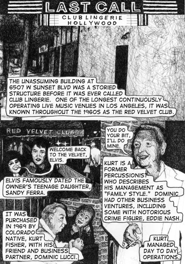 Noel Franklin, Last Call 3, Club Lingerie, 1