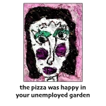 donna kuhn, the pizza was happy