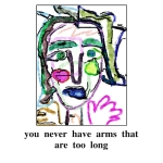 donna kuhn, you never have arms